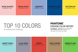 Paleta kolorów WIOSNA 2016